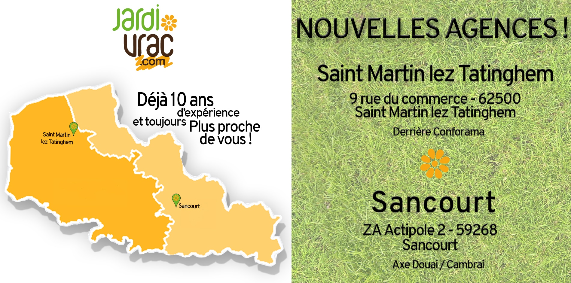 nouvelle agence !
