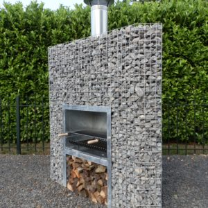 Barbecue Gabion Angle
