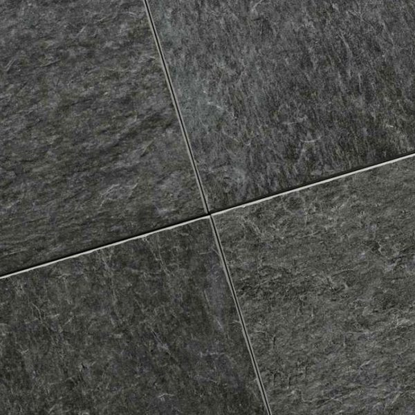 Dalle céramique noire Durban Slate Sell Pillarguri Black