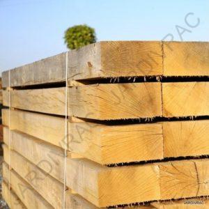 Poutre bois traverse en ch ne bordure azob piquet en azob - Traverse en chene ...