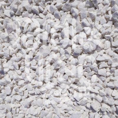 Gravier concassé blanc de Madagascar