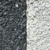 Gravillon noir/blanc/bordalu