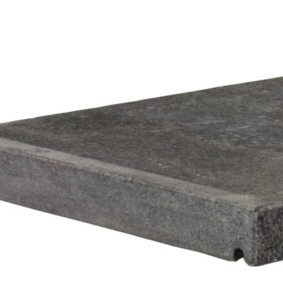 Couvre mur noir en basalte