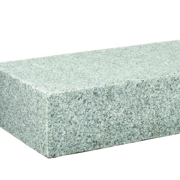 Marche granit gris blanc