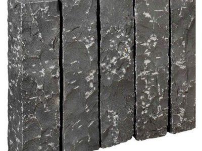 Palissade basalte noir vietnamien
