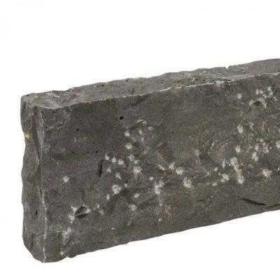 Bordure basalte brut noir Vietnamien