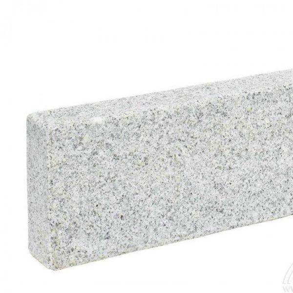 Bordure sciée granit gris blanc
