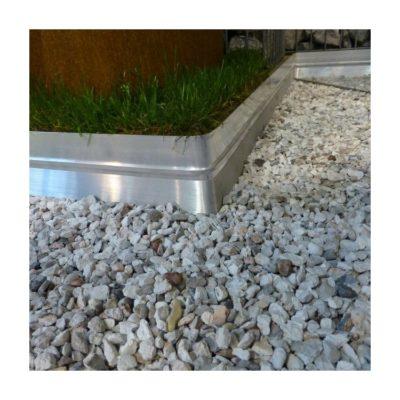 BORDURE BORDALU Aluminium Brut