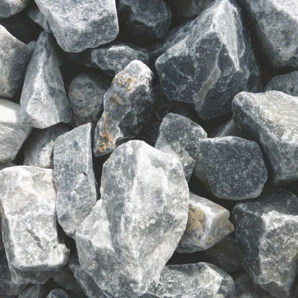 pierre concassée bleu glace