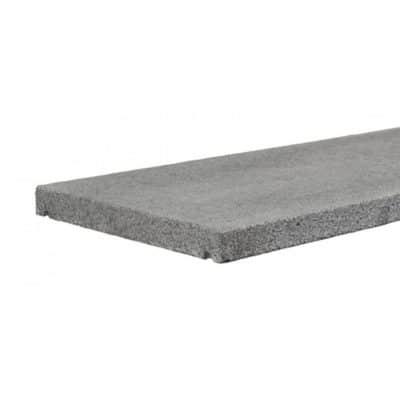 Couvre mur granit gris foncé avec goutte d'eau
