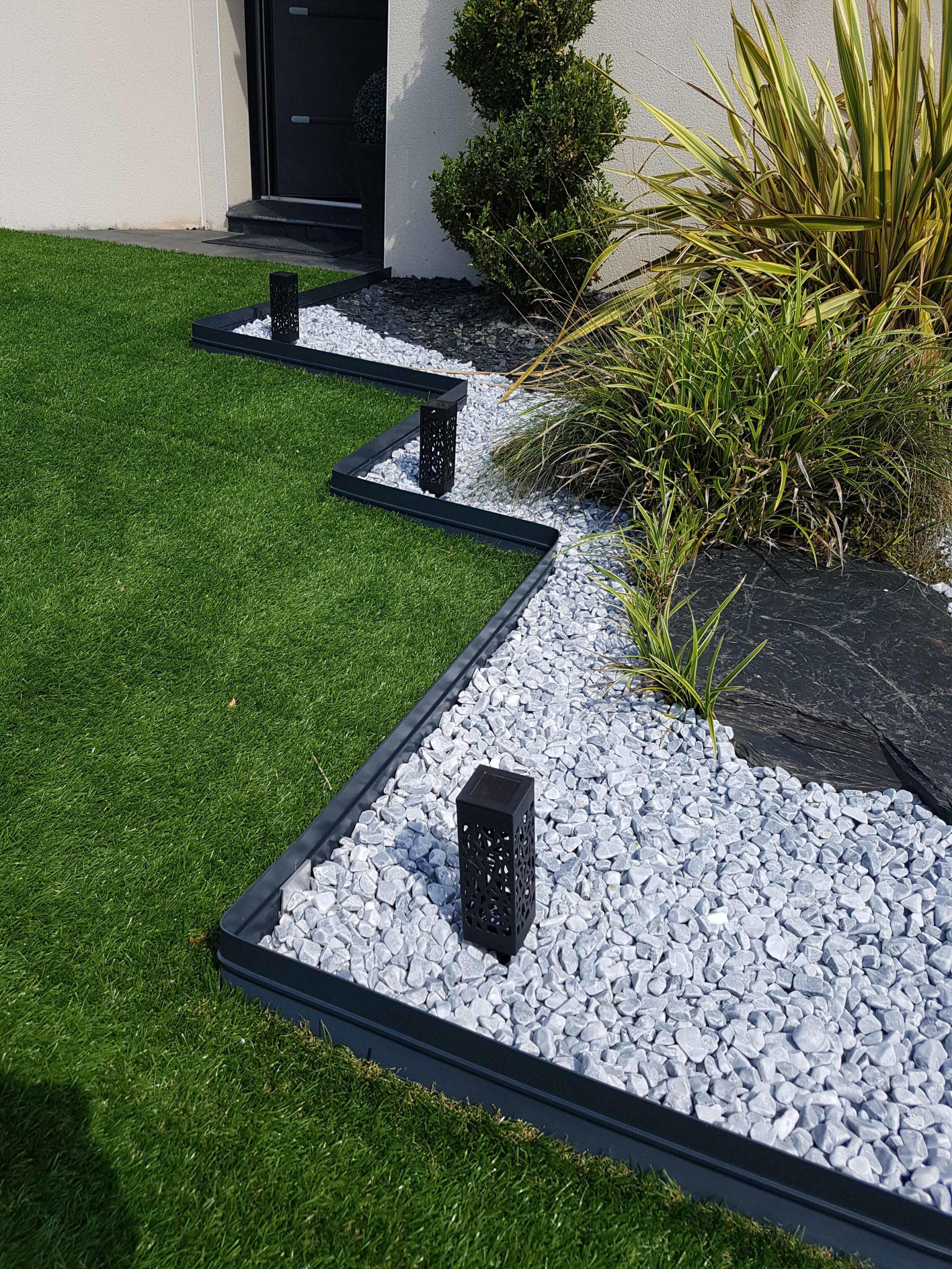 bordure bordalu gris anthracite jardivrac d coration. Black Bedroom Furniture Sets. Home Design Ideas
