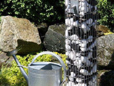 colonne gabion robinet