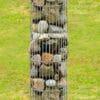 gabion décoratif colonne ronde