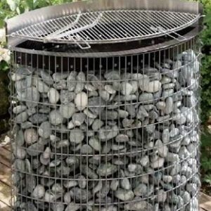 barbecue gabion ellipse