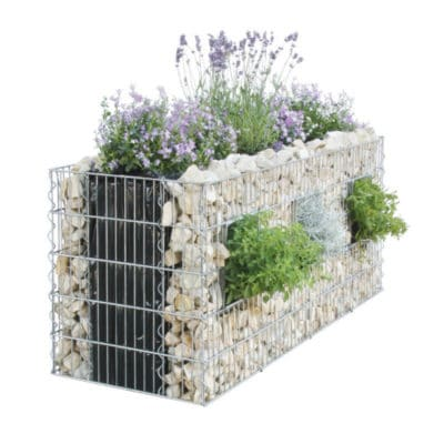 muret gabion vegetalisable