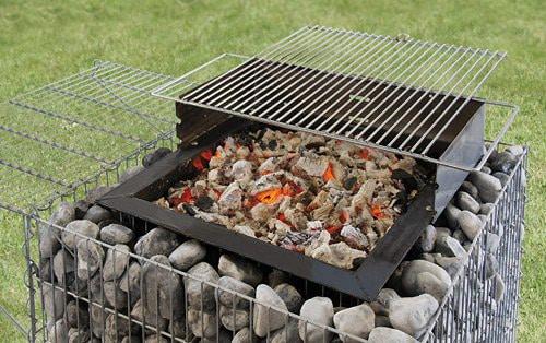 barbecue gabion prémium