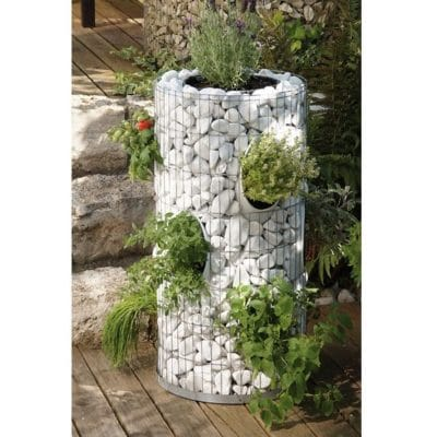 Tour aromatique gabion 2