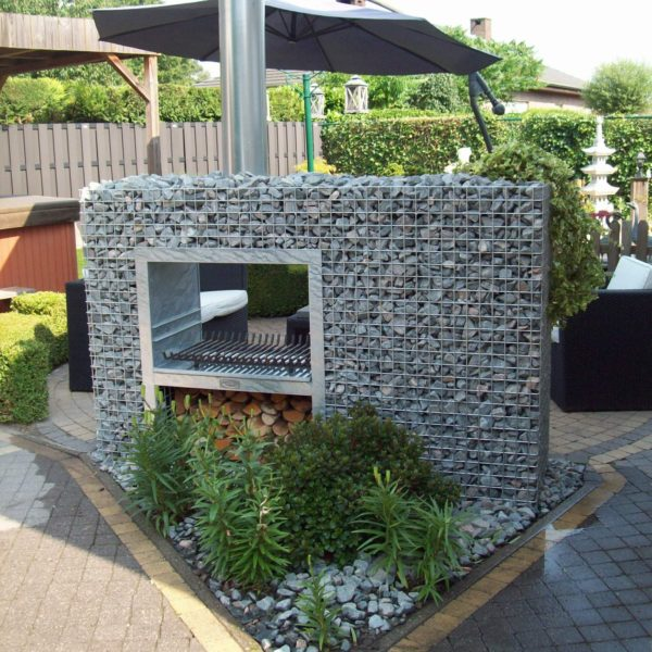 Barbecue Gabion Rectangle