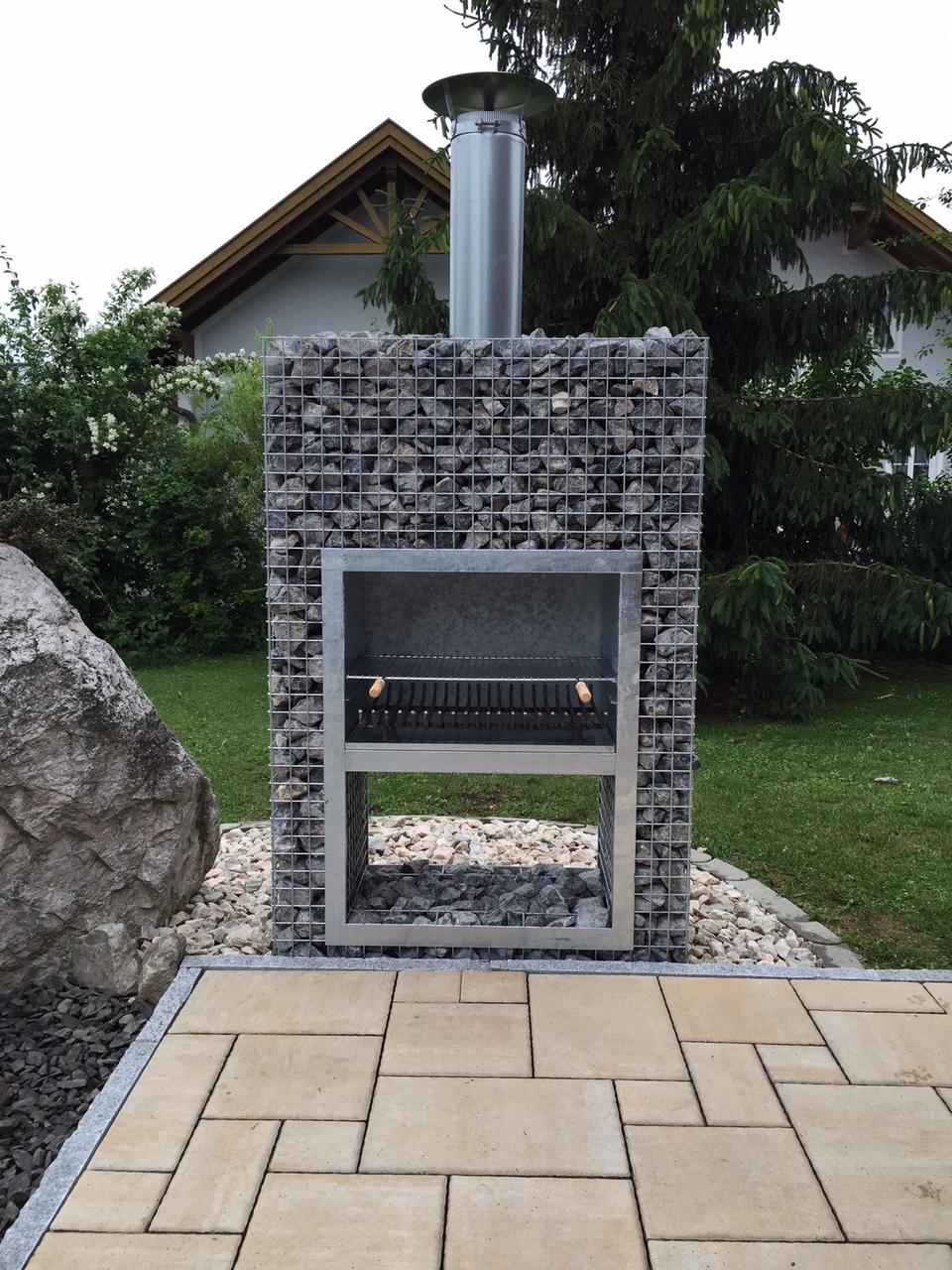 Barbecue Gabion Bloc XL Jardivrac Décoration et