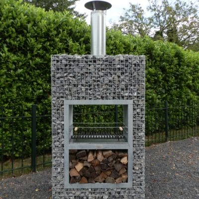 barbecue gabion Bloc