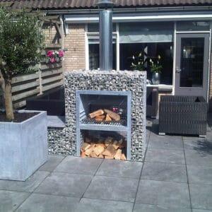 Barbecue gabion bloc XL