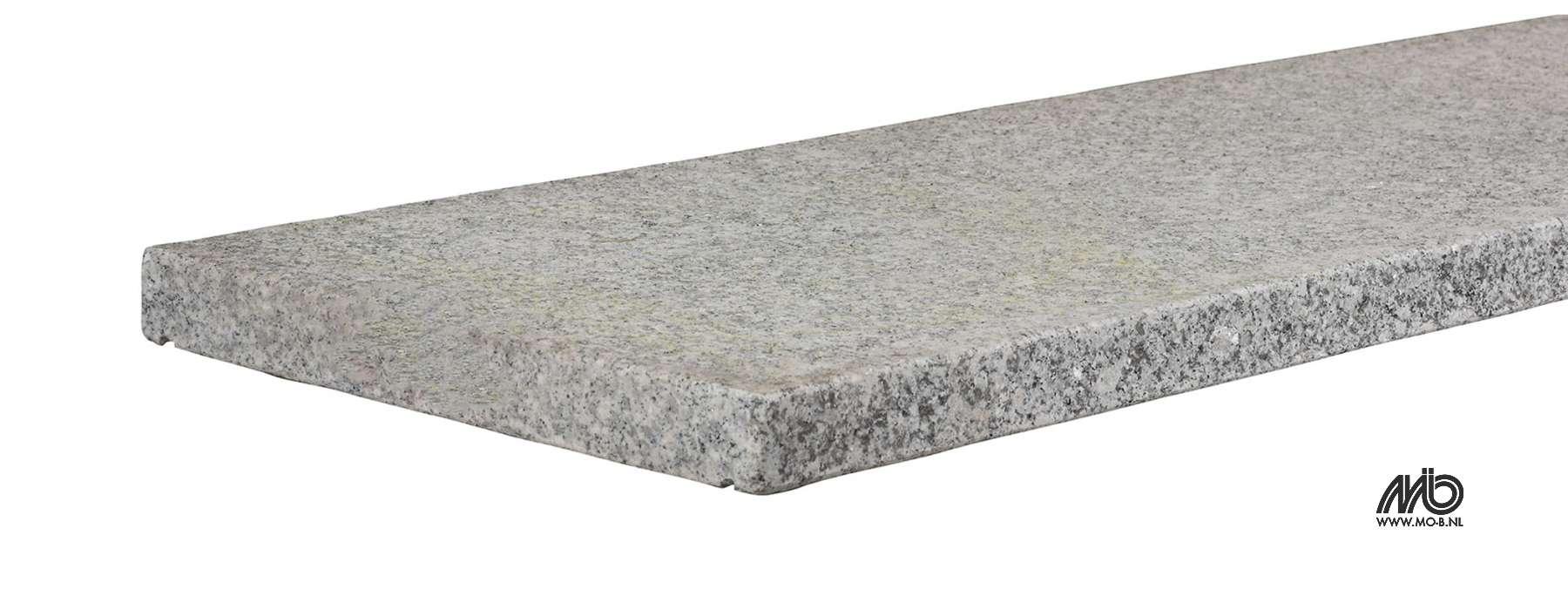 couvre mur en granit gris blanc avec goutte d 39 eau jardivrac. Black Bedroom Furniture Sets. Home Design Ideas