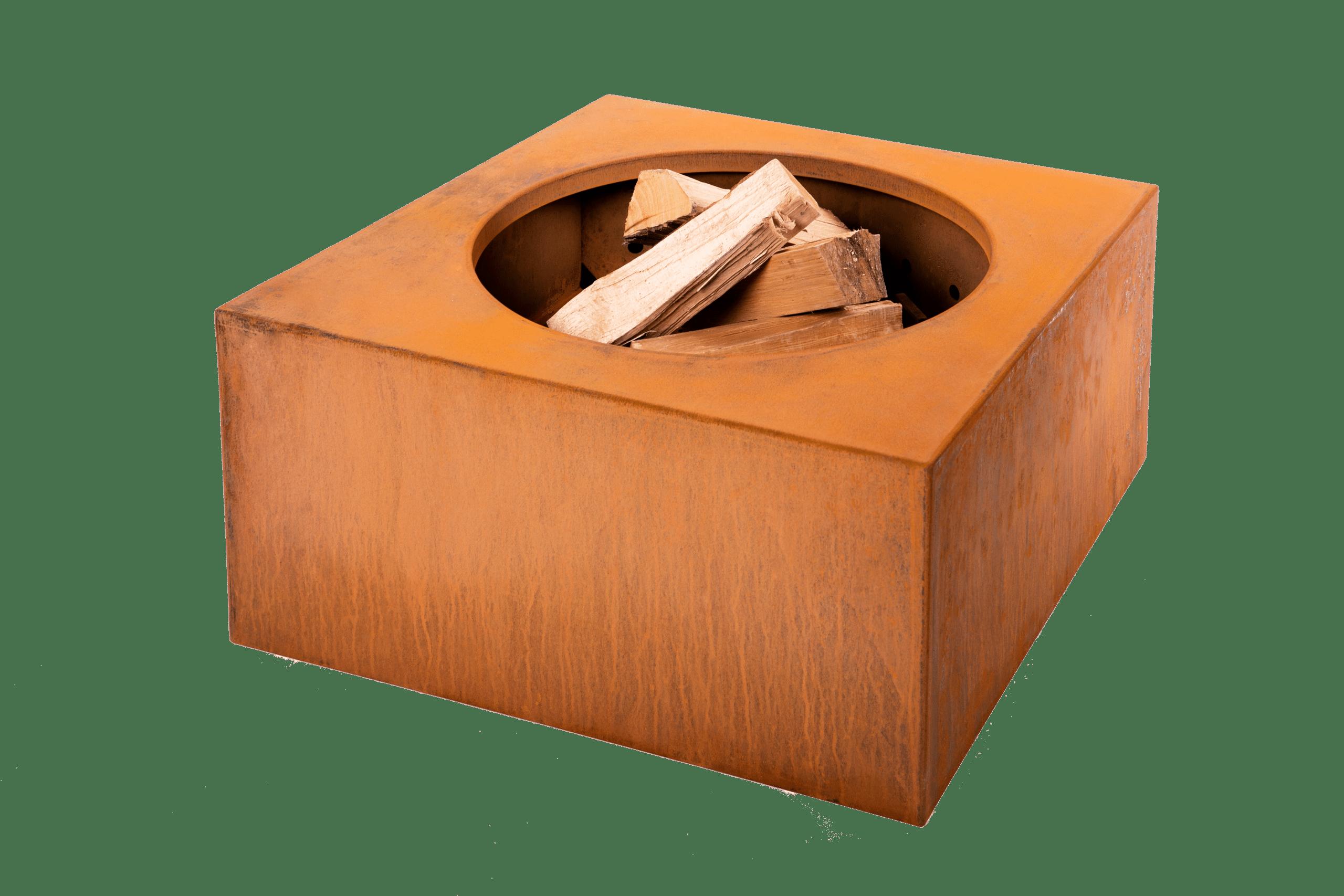 Construire Un Foyer Extérieur brasero ou foyer extérieur corten vulcano