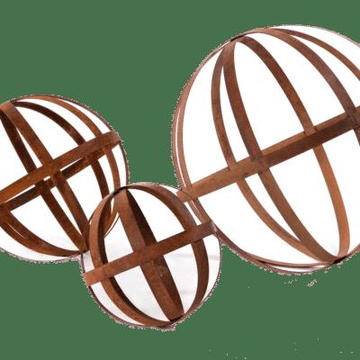 Sphères Corten