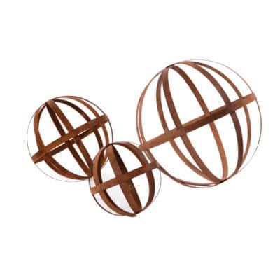 spheres-corten