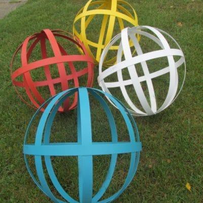 sphère colorée DHACIER