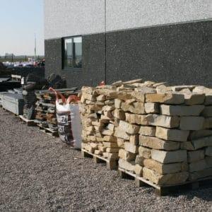 Stock de pierres