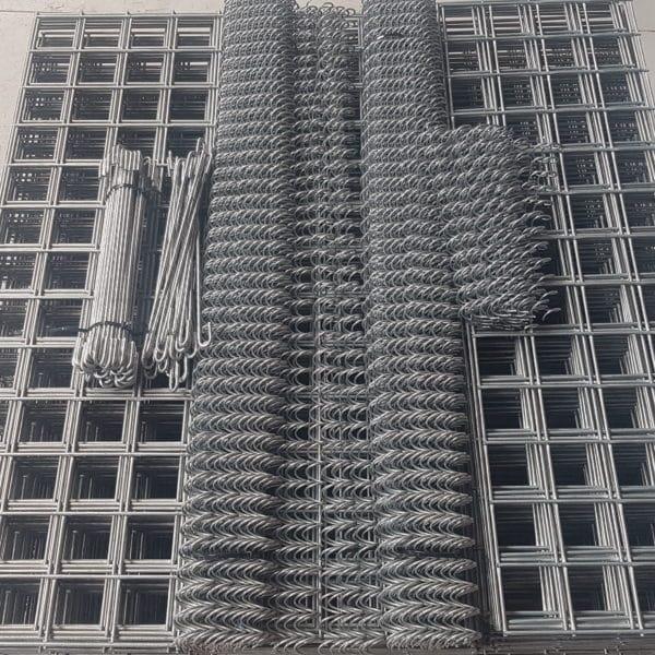 Panneaux gabion spirales