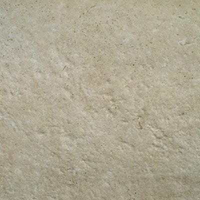 Carrelage exterieur beige travertin Crosscut Céramique
