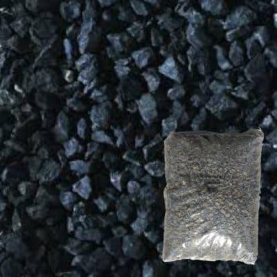 gravier concassé noir ebène