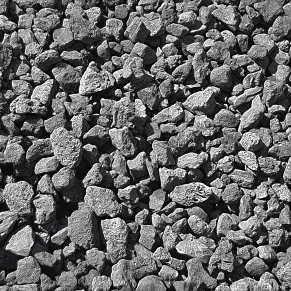 Pouzzolane noire 15 à 40 mm