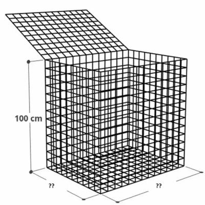 Kit gabion Hauteur 100 cm