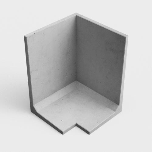 L béton : Angle