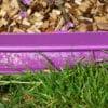 Bordure de jardin violette