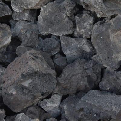 roche pouzzolane noire